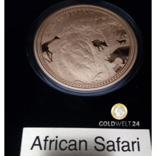 1 Unze Gold Somalia Elefant 2016