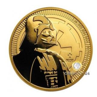 1 Unze Gold Darth Vader 2017