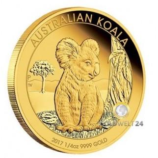 1/4 Unze Gold Koala High 2017 PP