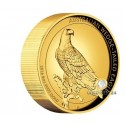 5 Unzen Gold Wedge Tailed Eagle 2016 High Relief PP