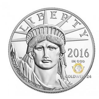 1 Unze Platin Eagle 2016 PP