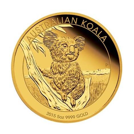 5 Unzen Gold Koala 2015