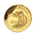 5 Unzen Gold Somalia Elefant 2016