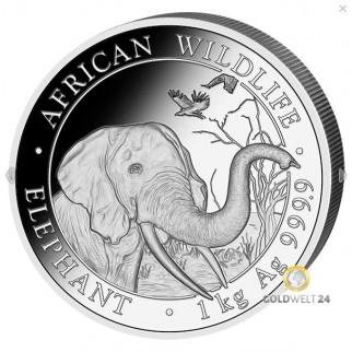 1 Unze Silber Somalia Elefant 2016