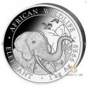1 Kilo Silber Somalia Elefant 2018