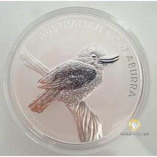 1kg Silber Kookaburra 2010