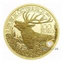 100€ Wildtiere Österreich 2013 Rothirsch PP