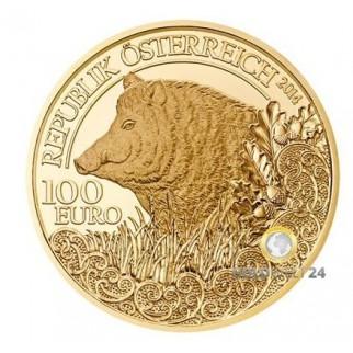 100€ Wildtiere Österreich 2013