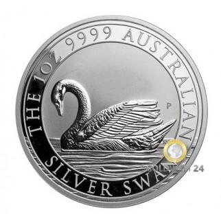 1 Unze Silber Australien Schwan div.