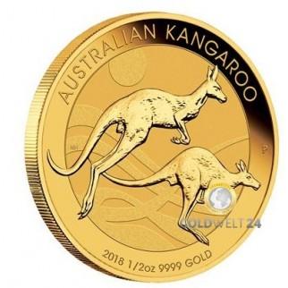 1/2 Unze Gold Känguru Nugget 2018