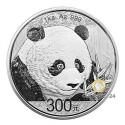 1 kg Silber China Panda 2018 (Polierte Platte)