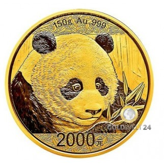 150g Gold China Panda 2018 PP (inkl. Box und Zertifikat)