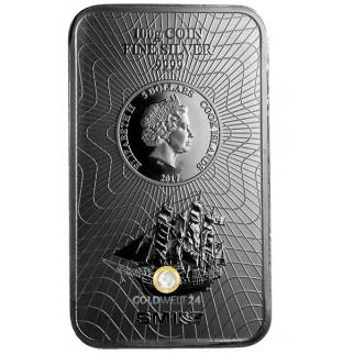 100g Silber Münzbarren versch. Hersteller