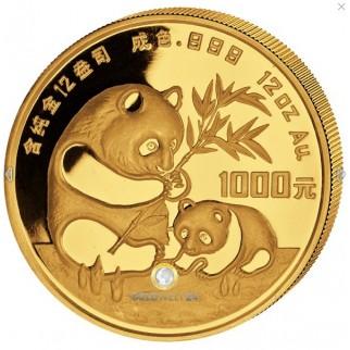 1000 Yuan Gold China Panda 1986 PP (gekapselt)