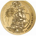 1 Unze Gold Ruanda Nautical Ounce Endeavour 2018