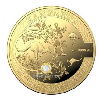 1 Unze Gold Känguru2018 25. Jubiläum PP