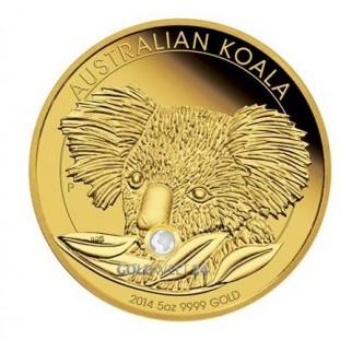 5 Unzen Gold Koala 2014 PP