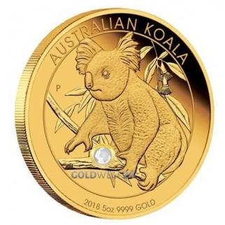 5 Unzen Gold Koala 2018 PP