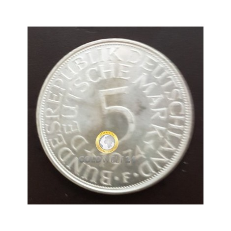 Silberadler 5 DM div. Jahrgänge