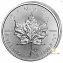 1 Unze Silber Maple Leaf 30 Jahre