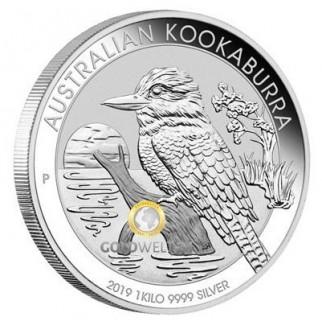 1kg Silber Kookaburra 2016 PP (inkl. Etui   Auflage: 500)