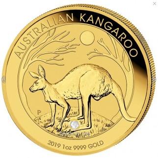 1 Unze Gold Känguru Nugget 2019