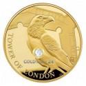 5 Unzen Gold Tower of London Legende der Raben 2019 PP