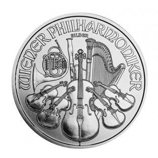 1 Unze Silber Wiener Philharmoniker 2020