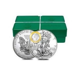 500*1 Unze Silber American Eagle 2018