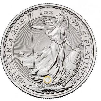 Platin Brittannia 1 Unze 2018