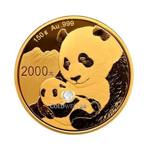 150g Gold China Panda 2019 PP (inkl. Box und Zertifikat)