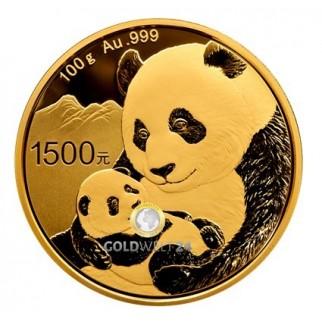 100g Gold China Panda 2019 PP (inkl. Box und Zertifikat)