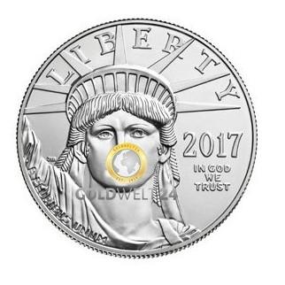 Platin American Eagle 1 Unze 2017