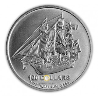 Platin Cook Islands 1 Unze div.