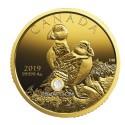 1 Unze Gold Kanada Papageientaucher 2019