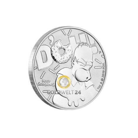 1 Unze Silber HOMER SIMPSON 2019
