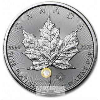 Platin Maple Leaf 1 Unze div.