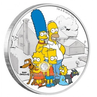 2 Unzen THE SIMPSONS™ - DIE SIMPSON™ FAMILIE 2019
