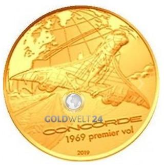 200 Euro Gold Concorde 2019 PP