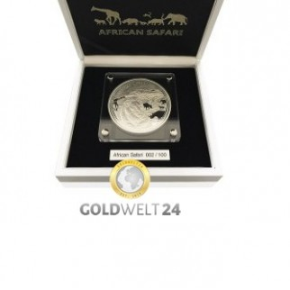 1 kg Silber China Panda 2016 (Polierte Platte)