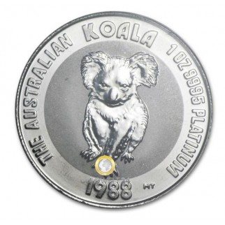 Platin Koala 1 Unze 1988