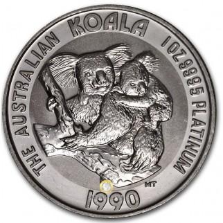 Platin Koala 1 Unze 1990