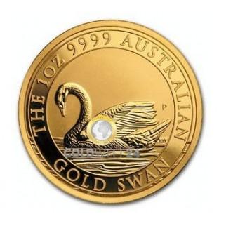 1 Unze Gold Australien Schwan 2017