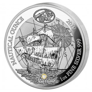 1 Unze Silber Nautical Ounce Victoria 2019 PP