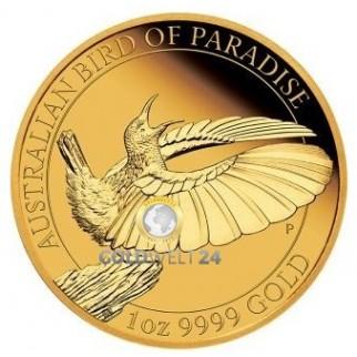 1 Unze Gold Paradiesvogel 2019 PP