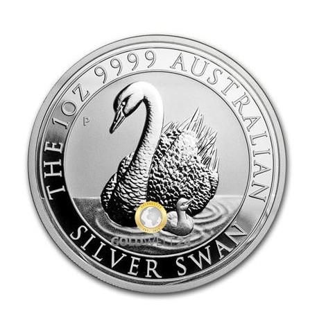 1 Unze Silber Australien Schwan 2018