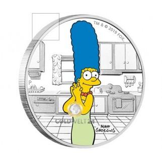 1 Unze Silber Bart Simpson 2019 PP
