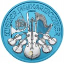 1 Unze Silber Wiener Philharmoniker Space Blue 2019