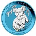 1 Unze Silber Australien Koala Space Blue 2019