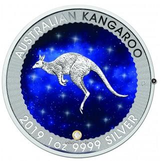1 Unze Silber Känguru Nugget 2016